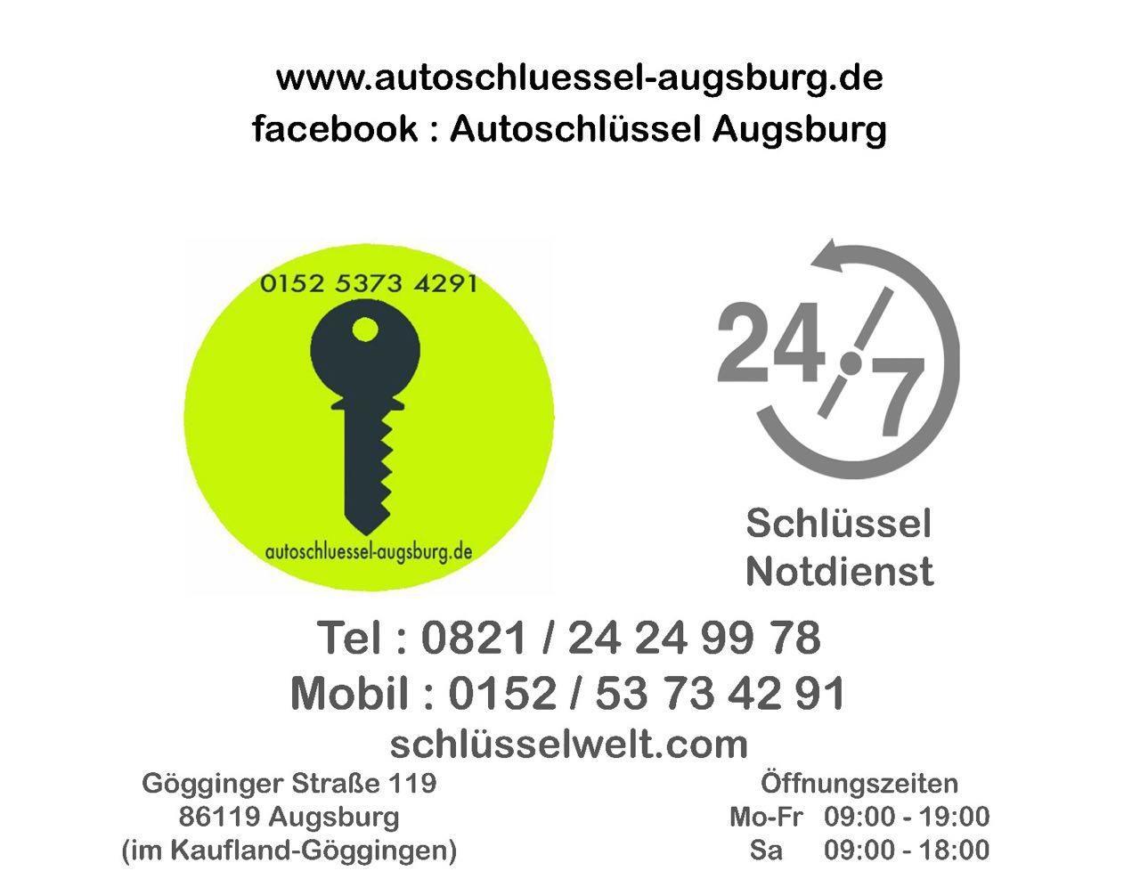 Home Autoschlussel Augsburg